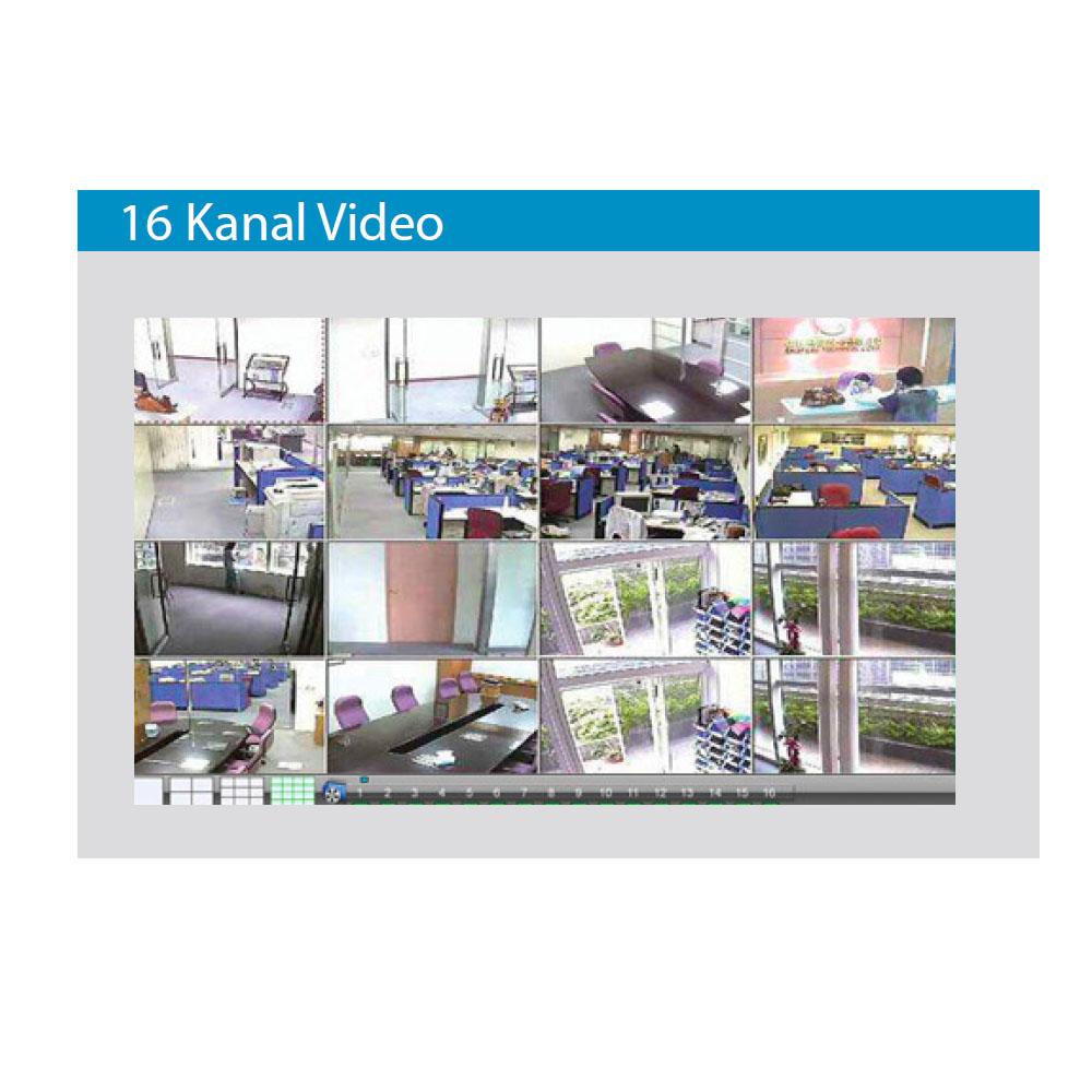 Solidron DVR Güvenlik Kamerası Kayıt Cihazı